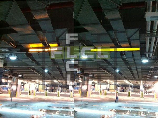 LED Display work with CX RFID Logistic System