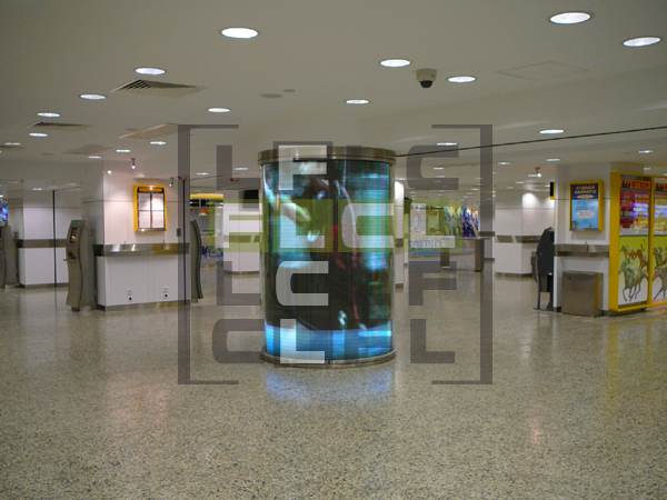 HKJC Tuen Mun Branch Indoor Round LED Display